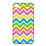 Chevron Pattern Design Texture iPhone 4/4s Seamless Case (Black) Front