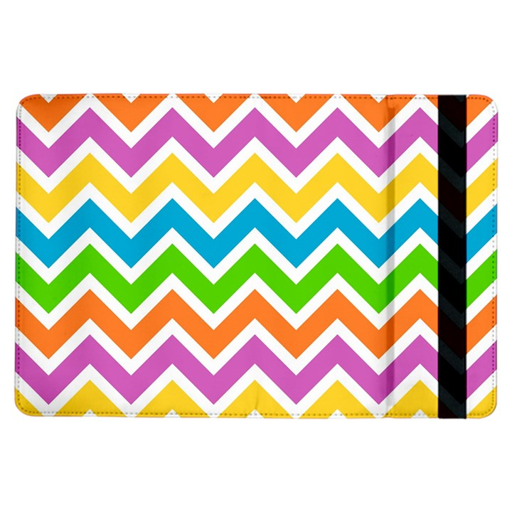 Chevron Pattern Design Texture iPad Air Flip