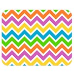 Chevron Pattern Design Texture Double Sided Flano Blanket (Medium)  60 x50  Blanket Front