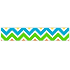 Chevron Pattern Design Texture Large Flano Scarf