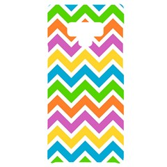 Chevron Pattern Design Texture Samsung Note 9 Black Uv Print Case