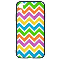Chevron Pattern Design Texture Iphone Xr Soft Bumper Uv Case