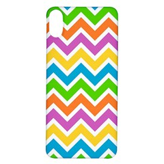 Chevron Pattern Design Texture Iphone X/xs Soft Bumper Uv Case