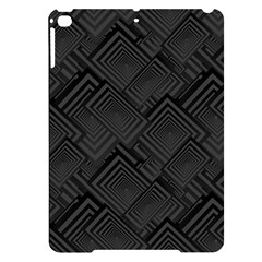 Diagonal Square Black Background Apple Ipad Pro 9 7   Black Uv Print Case