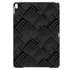 Diagonal Square Black Background Apple Ipad Pro 10 5   Black Uv Print Case