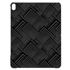 Diagonal Square Black Background Apple Ipad Pro 12 9   Black Uv Print Case