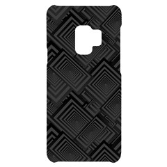 Diagonal Square Black Background Samsung S9 Black Uv Print Case