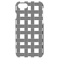 Seamless Stripe Pattern Lines Iphone 7/8 Black Uv Print Case