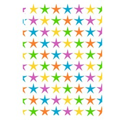 Star Pattern Design Decoration Apple Ipad Pro 10 5   Black Uv Print Case
