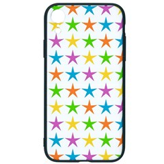 Star Pattern Design Decoration Iphone Xr Soft Bumper Uv Case