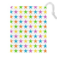 Star Pattern Design Decoration Drawstring Pouch (xxxl)
