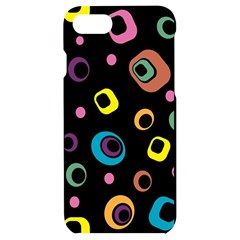 Abstract Background Retro Iphone 7/8 Black Uv Print Case