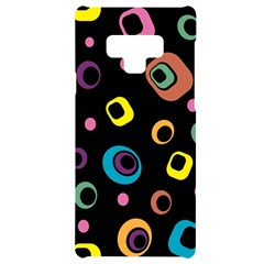 Abstract Background Retro Samsung Note 9 Black Uv Print Case