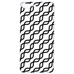 Diagonal Stripe Pattern Iphone 7/8 Plus Soft Bumper Uv Case