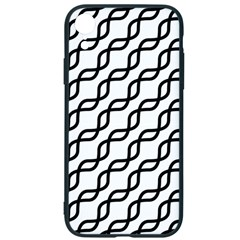 Diagonal Stripe Pattern Iphone Xr Soft Bumper Uv Case