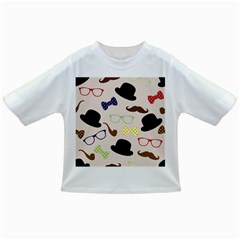 Moustache Hat Bowler Bowler Hat Infant/toddler T Shirts