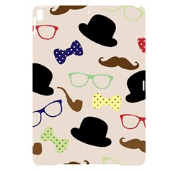 Moustache Hat Bowler Bowler Hat Apple Ipad Pro 10 5   Black Uv Print Case