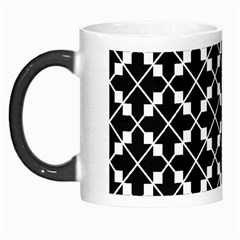 Abstract Background Arrow Morph Mugs