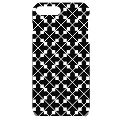 Abstract Background Arrow Iphone 7/8 Plus Black Uv Print Case