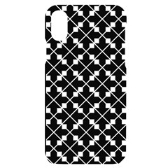 Abstract Background Arrow Iphone X/xs Black Uv Print Case