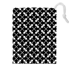 Abstract Background Arrow Drawstring Pouch (xxxl)