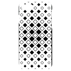 Square Diagonal Pattern Monochrome Iphone 7/8 Black Uv Print Case