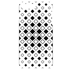Square Diagonal Pattern Monochrome Iphone 7/8 Plus Black Uv Print Case