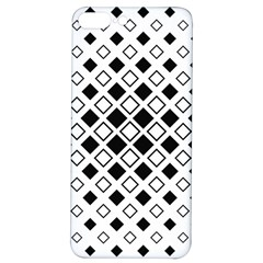 Square Diagonal Pattern Monochrome Iphone 7/8 Plus Soft Bumper Uv Case