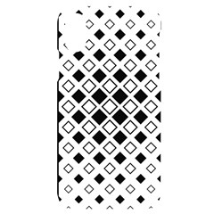 Square Diagonal Pattern Monochrome Iphone X/xs Black Uv Print Case