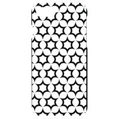 Pattern Star Repeating Black White Iphone 7/8 Black Uv Print Case