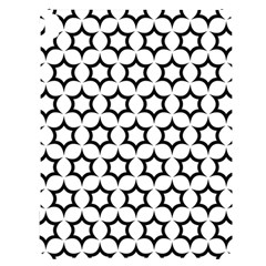 Pattern Star Repeating Black White Apple Ipad Pro 12 9   Black Uv Print Case