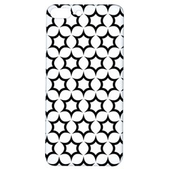 Pattern Star Repeating Black White Iphone 7/8 Plus Soft Bumper Uv Case