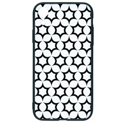 Pattern Star Repeating Black White Iphone Xr Soft Bumper Uv Case