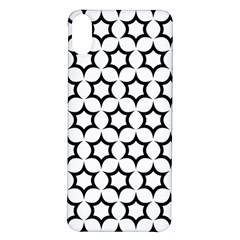 Pattern Star Repeating Black White Iphone X/xs Soft Bumper Uv Case