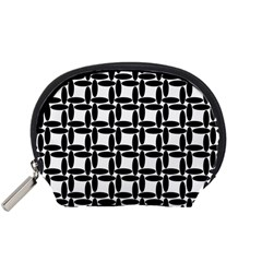 Ellipse Pattern Background Accessory Pouch (small)