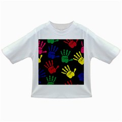 Handprints Hand Print Colourful Infant/toddler T Shirts