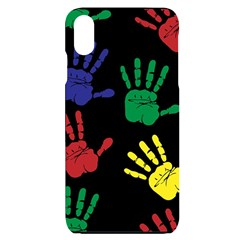 Handprints Hand Print Colourful Iphone Xs Max