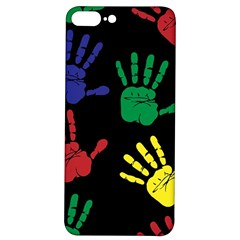 Handprints Hand Print Colourful Iphone 7/8 Plus Soft Bumper Uv Case