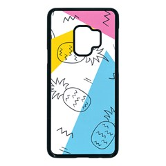 Doodle Pineapples Samsung Galaxy S9 Seamless Case(black)