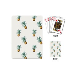 Pineapples Pattern Playing Cards (mini) by goljakoff