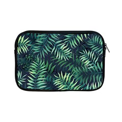 Night Tropical Leaves Apple Ipad Mini Zipper Cases by goljakoff