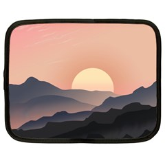 Sunset Sky Sun Graphics Netbook Case (xxl) by HermanTelo