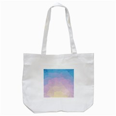 Sunrise Sunset Colours Background Tote Bag (white)