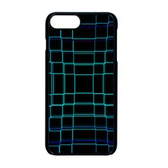 Texture Lines Background Iphone 8 Plus Seamless Case (black)