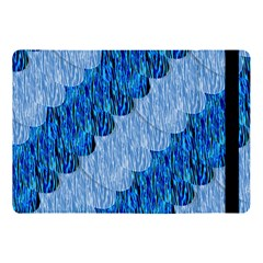 Texture Surface Blue Shapes Apple Ipad Pro 10 5   Flip Case