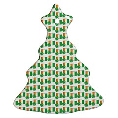 St Patricks Day Background Ireland Ornament (christmas Tree)