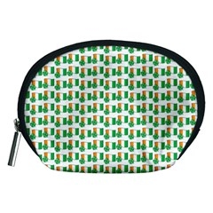 St-patricks Day Background Ireland Accessory Pouch (medium) by HermanTelo