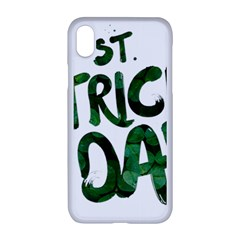 St Patrick s Day Iphone Xr Seamless Case (white)