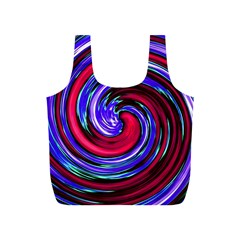 Swirl Vortex Motion Full Print Recycle Bag (s)