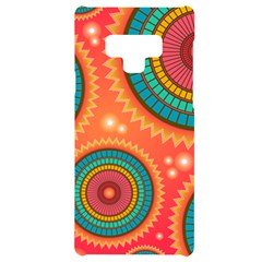Texture Mosaic Pink Samsung Note 9 Black Uv Print Case  by HermanTelo